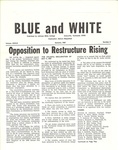Opposition to Restructure Rising by Kenneth M. Johnston and Robert Monroe Bell