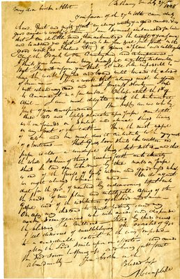 Letter from Alexander Campbell to John Abbot, 1828