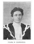 Photograph of Clara Hazelrigg by unknown