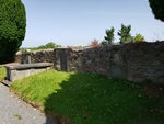 Enos Campbell tomb in east wall behind St. Patrick's Church, Newry by David Mickey Berryhill