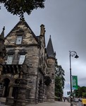 Glasgow University Old Gatehouse by Carisse Mickey Berryhill