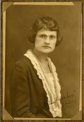 Hensley, Mrs. Ivan H. (Bernice Compere)