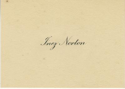 (Rambo), Inez Norton