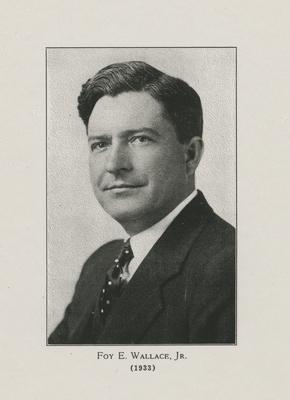 Wallace, Foy E., Jr.