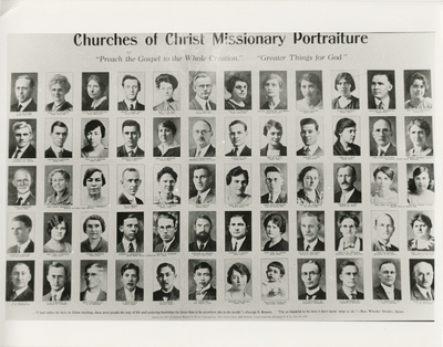 Churches of Christ Missionary Portraiture